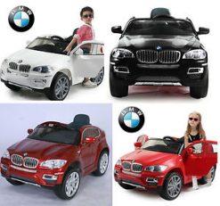מכונית BMW ממונעת X6