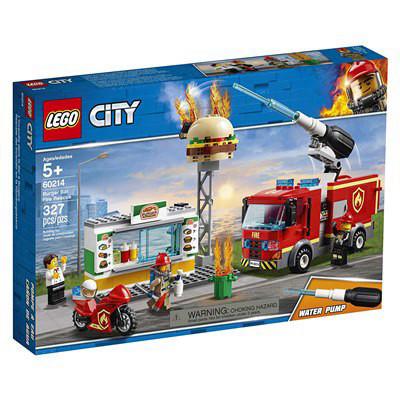 לגו Lego 60214 – לגו סיטי מכבי אש