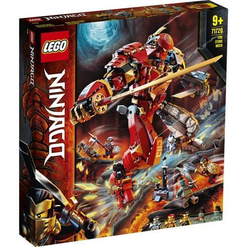 לגו 71720 LEGO - נינג'גו - מכונת אש ואבן