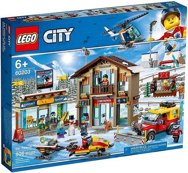 לגו 60203 LEGO - לגו סיטי אתר סקי
